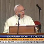 Pope: Don't develop that taste for that sugar called corruption #PopeInKenya https://t.co/09SFApYnpx