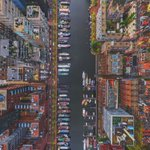 Amsterdam from above. https://t.co/XRUjBcECnR