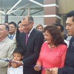 #SantaRosa | Vicepdte. @JorgeGlas en corte cinta inauguración #TerminalBinacional Presente Gdor. @CavoZambrano https://t.co/IhmRsPuobs