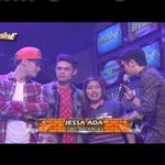 Si Jessa ang pambato ni @VhongX44 with HT Boys sa Singing Mo To - @itsShowtimena replay   #ShowtimeSabadoSwag PTA https://t.co/Qn9fmon1Lu