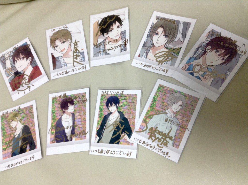 【ALIVE】みんなの直筆サイン入りお写真頂きました……!みんな可愛い(* ´  ` )ありがとうございます! https://t.co/z3xvcSADy0
