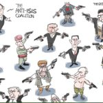 The anti-#Isis coalition. Turns out things are more complicated than just the Israeli-Palestinian conflict! https://t.co/Vn9ZfrFSgO
