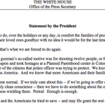 """""""This is not normal. We can't let it become normal."""" —@POTUS on the shooting in Colorado https://t.co/BfUkqdLyY8"""