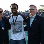 Great to have former Chant and current @Panthers @J_No24 at todays game! https://t.co/nO8mVeGiCf