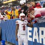 Lamar Jackson was named the games MVP https://t.co/Viz2im7H23