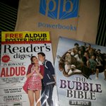 Gotcha! Another ALDUB mag and of course @michaelbitoygma Bubble Bible! #SimpleJoys #SPSLaughWins https://t.co/Jm9jTl0uej