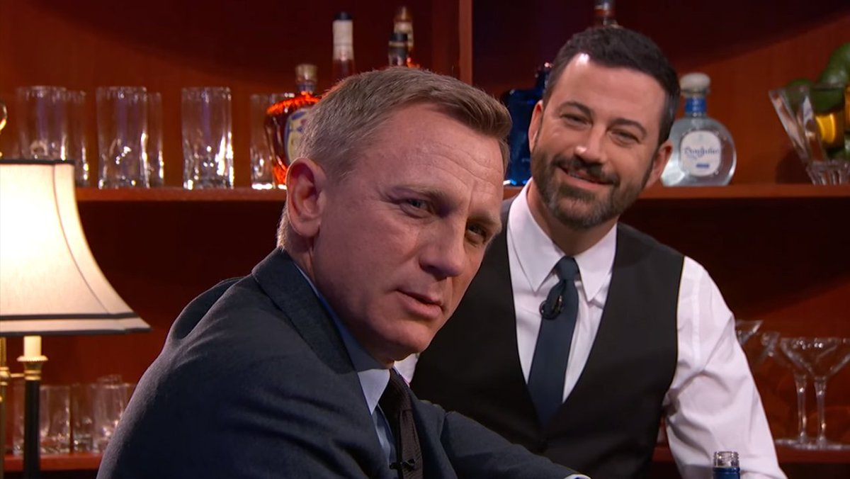 What If James Bond Sipped Cosmopolitans? Daniel Craig Tries '007' Drinks on 'Jimmy Kimmel'