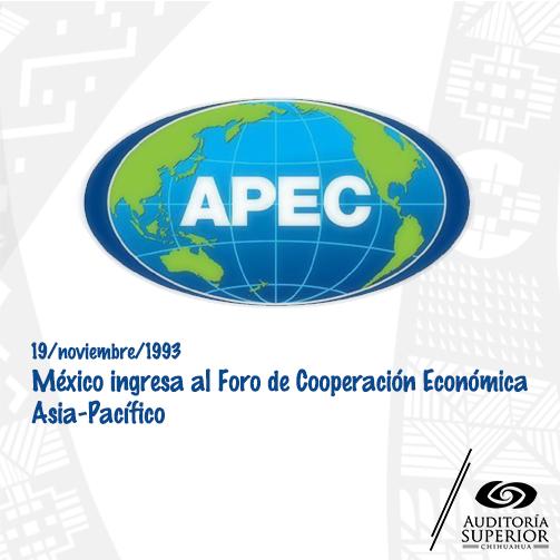 APEC está compuesto por 21 miembros que representan el 54% del PIB y 44% del comercio del mundo. #EfemérideDelDía https://t.co/slBcqMV9Kn