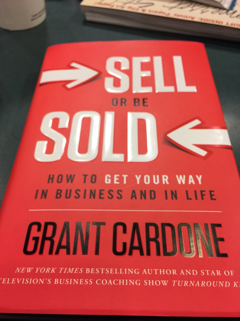 The book any good @GrantCardone :) https://t.co/HIxp0lf3SN