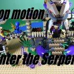 レゴニンジャゴーのアナコン神殿をストップモーションで作ります。youtubeでレゴ動画をアップしてますのでぜひチャンネル