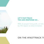 #FastTrack AIDS response so 90% of ppl affected by HIV report no discrimination. https://t.co/l9YjzQLYAC #WAD2015 https://t.co/XEF2c564Zc