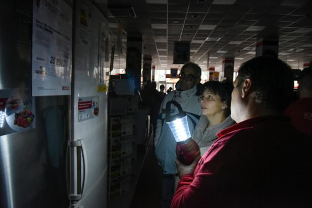 Most of Crimea without power after Ukrainian transmission tower explosions