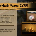 Hari ini, sedekah bumi 2015 @ halaman balai Desa Kertanegara | via @desakertanegara https://t.co/GZebJibaSh #eventIMY