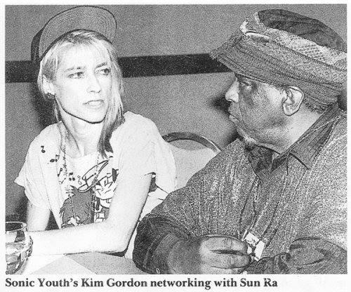 "Love this shot. @KimletGordon ""networking"" with Sun Ra: https://t.co/EMln1AM0tK"