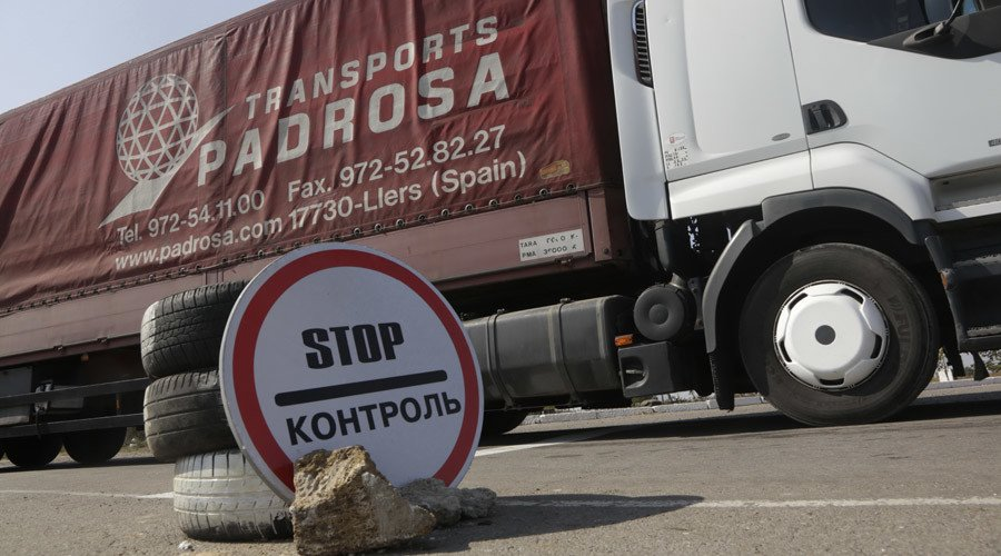 Blockade of Crimea? Ukraine suspends cargo traffic to and from peninsula