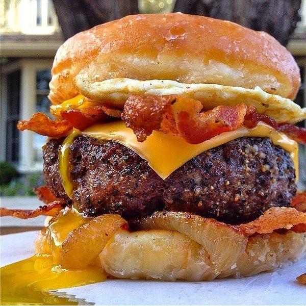 1 pic. 📷 foodiefun247: (Via: 6KSqc6t9J4) Bacon Cheeseburgers are life VIlrT3HS2U