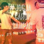 ♥ #JOGJA @garuksampah: 25/11/15 19.30 Jogja Garuk Sampah di Titik 0 km https://t.co/gSnmj2su0V