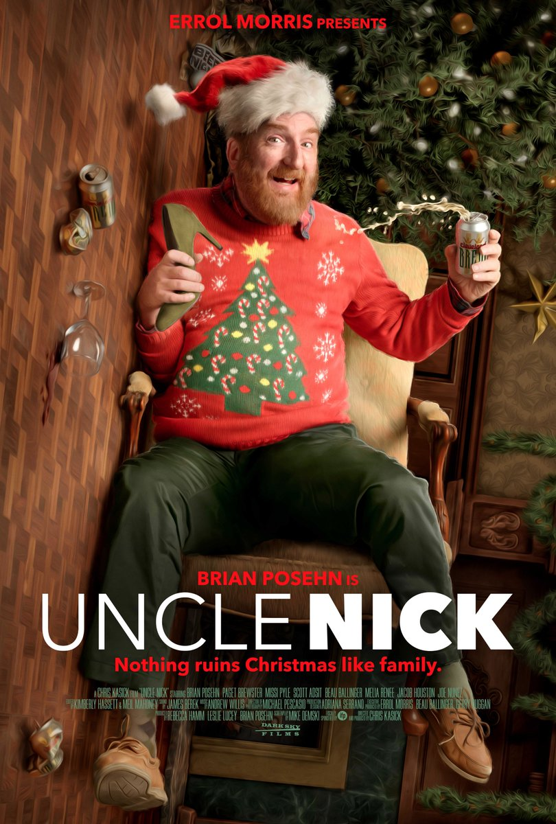 We're ruining Christmas a little early this year!  @thebrianposehn is UNCLE NICK, coming to VOD December 4th! https://t.co/t1GVLQqyCh