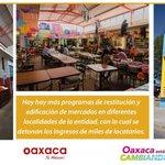 Se construyen mejores condiciones de vida para la población, concretamente Cd. de #Oaxaca y su zona conurbada https://t.co/Xyaceyhku9