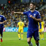 Delight for @GaryJCahill after he opens the scoring for @ChelseaFC with his 1st #UCL goal of the season. https://t.co/YItcBVPx8G