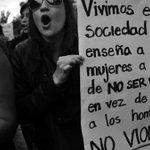 Por un mundo sin machismo ????. Ni una más #NoalaViolenciadeGenero https://t.co/Ep5Tz5Tx0a