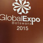 Global Expo Botswana 2015 opening ceremony this morning. Congratulations to BITC for the great program. https://t.co/3GF6SlReFw