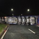 TRAVEL delays East Lancs at Astley, Greyhound Island. A lorry has overturned https://t.co/le2PQncwzI