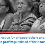 Too often our Native American brothers and sisters have seen corporate profits put ahead of their sovereign rights. https://t.co/UddYqGxuxf