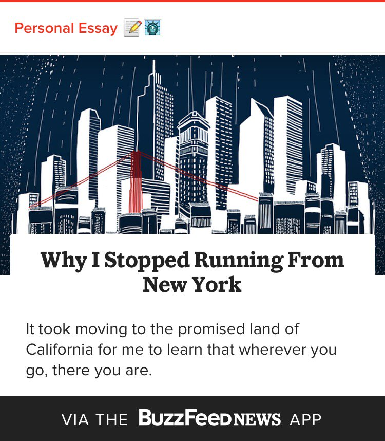 "Familiar turmoil. ""Why I Stopped Running From New York"" via @IsaacFitzgerald  https://t.co/vAQzbixqfY https://t.co/rqBFpwcaqV"
