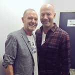 Good to see @gazza8gascoigne tonight. Pleased to say he was in good form and doing well. https://t.co/HFQTcTnF5Z