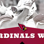 """No matter how it looked, there is a """"9"""" in the win column for the #AZCardinals. Winner!  #AZvsSF https://t.co/viYvt9ewS2"""