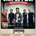 """Cant wait for 2016! Our """"Taking One For The Team"""" World Tour kicks off in Europe with @GhostTown! #TeamSPTour https://t.co/6BCw3bflFT"""