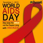 Support #WorldAidsDay! Stay away from the VIRUS not the people living with HIV/AIDS. https://t.co/bIXj9eANid