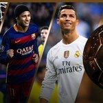 Vibra, Neymar! Brasileiro divide pódio da Bola de Ouro com Messi e Cristiano https://t.co/wlUPN6lub3 https://t.co/eYBIlvPXoe