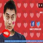 Haha brilliant --> Website set up to slap Aamir Khan hacked -- now giving him kisses https://t.co/m6mYIkHm42