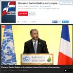 [#DIFERIDO a las 9:00a.m.] discurso Danilo Medina en #COP21 https://t.co/qD6IHGqzB8 https://t.co/X7dsA6YJda