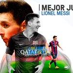 El último premio de la noche. El mejor jugador de la Liga BBVA 2014/15 fue… ¡Lionel Messi! #PremiosLaLiga https://t.co/fURYSix6Bw