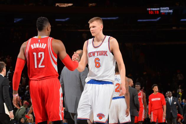 Kristaps Porzingis on getting dunked on by Dwight Howard I want to get him back