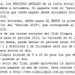 ATENCIÓN! Para aclarar el tema de canje de socios para Olimpia vs Santaní. Lean todos https://t.co/ug9zNngB9f