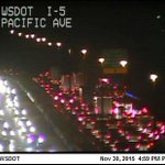 #Olympia - Accident on SB I-5 south of Pacific in the right lane. Backups to Sleator-Kinney.. https://t.co/O9erM8NrU6
