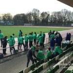 Die Mannschaft stellt die Uhren gleich. Ulisses #Garcia fehlt weiterhin beim #Training. #Werder https://t.co/iQ8QIaAbBf