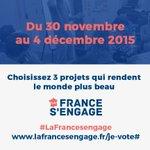 Jusquau 4 décembre pour soutenir vos 3 projets favoris @LaFrancesengage https://t.co/gheIbg6b1i #social #innovation https://t.co/0g968nOjtM
