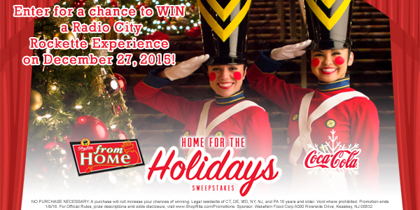 WIN @RadioCity X-mas Spectacular tickets on 12/27 from @CocaCola! Enter 12/1 – 12/12/15: https://t.co/Ydsax2VLF9 https://t.co/80eLg2ccLI