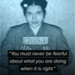 60 years ago today Rosa Parks was arrested for refusing to give her seat on a Montgomery bus to a white passenger https://t.co/yumnhDLU67
