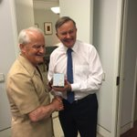 Happy to give @AlboMP his #philipruddockmug and first glimpse of the safari suit #auspol https://t.co/UT8QstAbIv