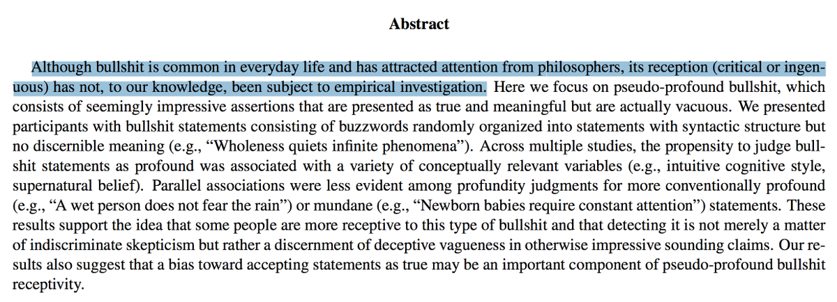 Maybe the best opening line to an academic abstract I have ever seen https://t.co/ccyX5ZYwgi https://t.co/9bkziyGw8P