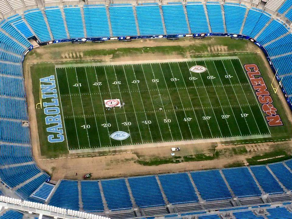 The field is set for #clemson vs #UNC #ACCFCG in Charlotte https://t.co/CrrpETLNzo