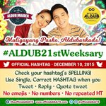 Image of aldub21stweeksary from Twitter
