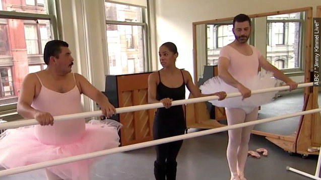 TONIGHT: @mistyonpointe talks to @jimmykimmel. 11:35pm on @ABCNetwork https://t.co/dGDt2RDQOy