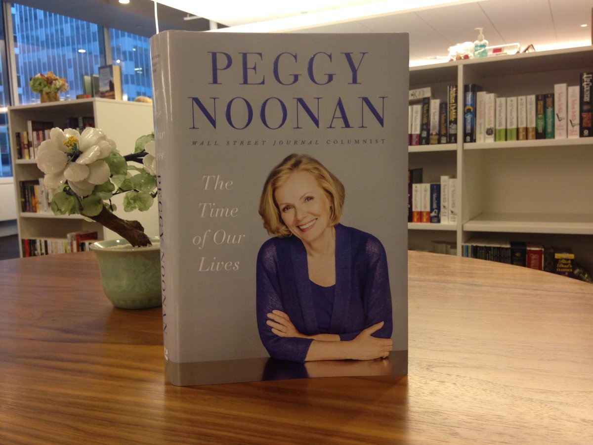#12DaysOfGiveaways Day 12: RT to win a SIGNED copy of THE TIME OF OUR LIVES by @PeggyNoonanNYC! https://t.co/mJwrwr18oS